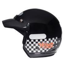 Capacete wind new plus preto 60 - taurus -