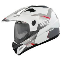 Capacete X11 Crossover X3-N SV Branco Neon (T-60)