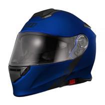 Capacete X11 Turner Solides Moto Escamoteável Retrátil Solar -