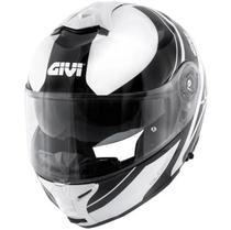 Capacete x21 globe branco/preto l/60 - Givi