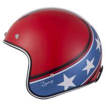 Capacete zeus 380h solid red/dark blue k57 -