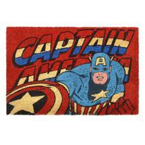 Capacho Marvel Capitão América 61x41x1,5cm -