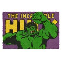 Capacho Marvel Incrível Hulk 61x41x1,5cm -