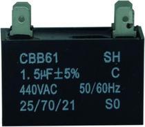 Capacitor 1.5 uf x 440v Ar Condicionado - Lg