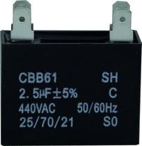 Capacitor 2.5 uf x 440v Ar Condicionado - Lg