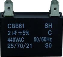 Capacitor 2 uf x 450v Ar Condicionado - Lg