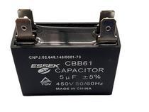 Capacitor 5 Uf Ventilador 450vac P/ Ar Condicionado Split - Essek