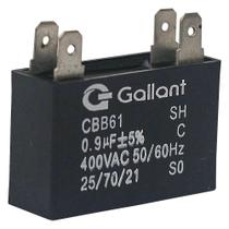 Capacitor CBB61 Gallant 0,9MF +-5% 400VAC GCP09S00A-PT400 -