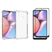 Capinha Anti Impactos Samsung Galaxy A10S + Película de Vidro - Sm