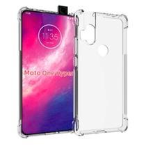 Capinha Anti Queda Transparente Bordas Reforçadas Motorola Moto G8 Play/One Macro - Inova Cases