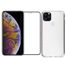 Capinha Antichoque e Película de Gel 5D Iphone 11 Pro Max Tela 6.5 - Hrebros