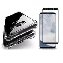 Capinha Antichoque e Película Gel 5D Samsung S8 - Innova
