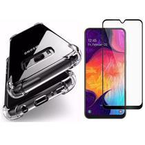 Capinha Antichoque e Película Gel 5D Samsung S8 Plus - Hrebos