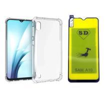 Capinha Antichoque e Película Gel Nanogel Samsung Galaxy A10 - Innova