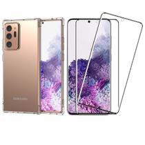 Capinha Antichoque e Película Gel Nanogel Samsung Note 20 Ultra - Hrebos