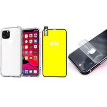 Capinha Antichoque Película Gel 5D e Traseira Iphone 11 Pro Max - Hrebros