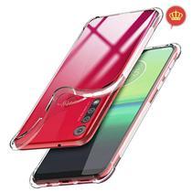 Capinha Antiqueda Flexível Motorola Moto G8 Play Transparente - Fit.It