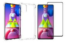 Capinha Capa Anti Impactos Samsung Galaxy M51 + Película Vidro 3D - Hrebos