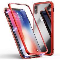 Capinha Capa Case Magnetica do Samsung J4+ plus Vermelha - Hrebos