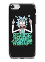 Capinha Capa para celular Samsung Galaxy A8 2018 (sm-A530F) - Rick and Morty 8 - Fanatic Store