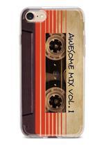 Capinha Capa para celular Samsung Galaxy J5 METAL (sm-J510) - Fita Cassete K7 Awesome Mix - Fanatic Store