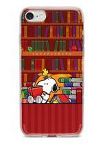 """Capinha Capa para celular Samsung Galaxy S10e (5.8"""") - Snoopy Book - Fanatic Store"""