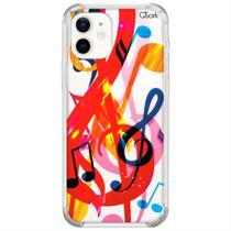 Capinha case para iphone 12 (0219) nota musical 2 - Quarkcase