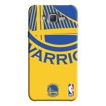 Capinha de Celular NBA - Samsung Galaxy J7 - Golden State Warriors - NBAD10