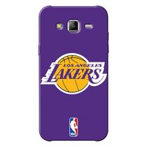 Capinha de Celular NBA - Samsung Galaxy J7 - Los Angeles Lakers - NBAA16