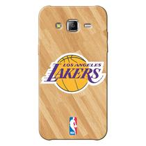 Capinha de Celular NBA - Samsung Galaxy J7 - Los Angeles Lakers - NBAB16