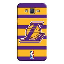 Capinha de Celular NBA - Samsung Galaxy J7 - Los Angeles Lakers - NBAE02