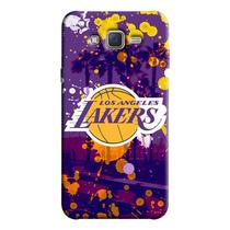 Capinha de Celular NBA - Samsung Galaxy J7 - Los Angeles Lakers - NBAF03