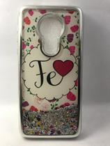 Capinha Moto G7 Power com Glitter - Import