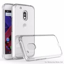 Capinha Para Moto G4 Play - Flexivel Transparente - Maston