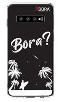 Capinha Preta - Bora Coqueiros - Samsung Galaxy S10 - Use Bora