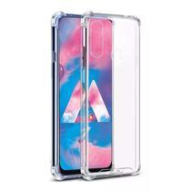 Capinha Silicone Antichoque e Película Vidro Samsung A40 - Hrebros