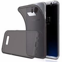 Capinha Silicone Fumê Flexível Samsung Galaxy S8 Plus - Hrebos