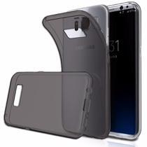 Capinha Silicone TPU Fumê Super Flexível Samsung Galaxy S8 - Hrebos