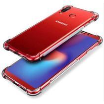 Capinha Silicone Transparente Antichoque Samsung Galaxy M20 - Hrebros