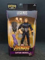 Capitão América da Marvel Legends Series Avengers Infinity War - Hasbro