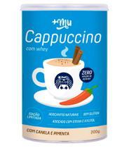 Cappuccino com Canela e Pimenta 200g +Mu - Mais Mu