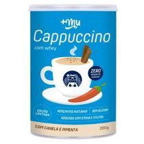 Cappuccino com Whey com Canela e Pimenta 200g - Mais Mu -
