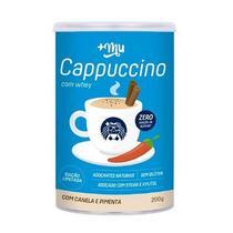 Cappuccino Com Whey e Canela Adoçado Com Xylitol 200g - Mais Mu -