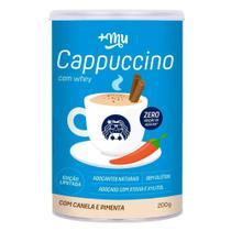 Cappuccino proteico a base de whey  +um - 200g - Mais Mu -