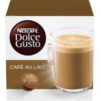 Capsula de Cafe Au Lait Dolce Gusto 100g CX 10 UN Nescafe -