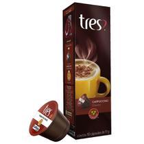 Cápsula de Cappuccino Clássic 10 unidades - TRES -
