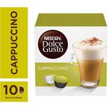 Capsula de Cappuccino Dolce Gusto 11,7g CX 10 UN Nescafe - Nescafe Dolce Gusto