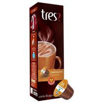 Cápsula de Chocolatto Caramelo 10 unidades - TRES -