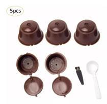 Cápsula Reutilizável Cafeteira Dolce Gusto Kit 5 Unidades - Groto Store