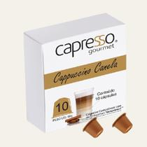 Cápsulas Cappuccino Canela - 10 Cápsulas (Padrão Nesspresso) - Capresso
